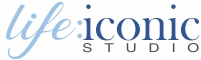 life:iconic studio | Painted Portraits Logo